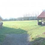 Die Grillhütte am Freizeitheim Wirberg auf dem Zeltplatz